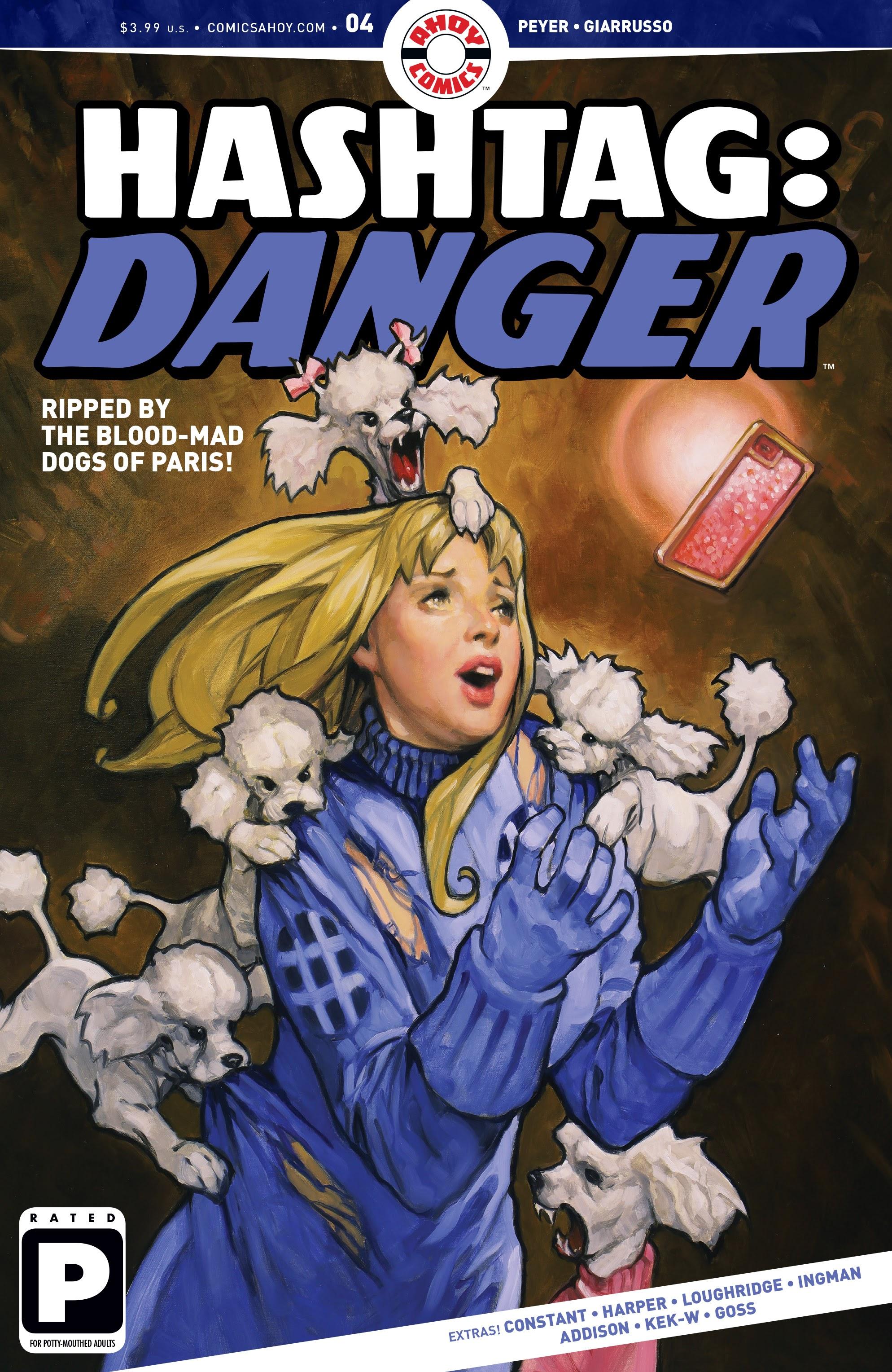 Hashtag Danger 4 Page 1