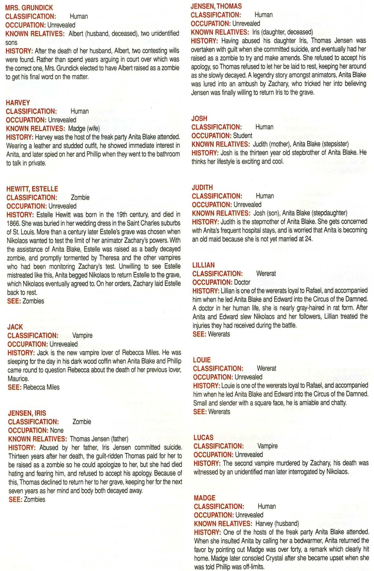 Read online Anita Blake, Vampire Hunter: Guilty Pleasures Handbook comic -  Issue #Anita Blake, Vampire Hunter: Guilty Pleasures Handbook Full - 48