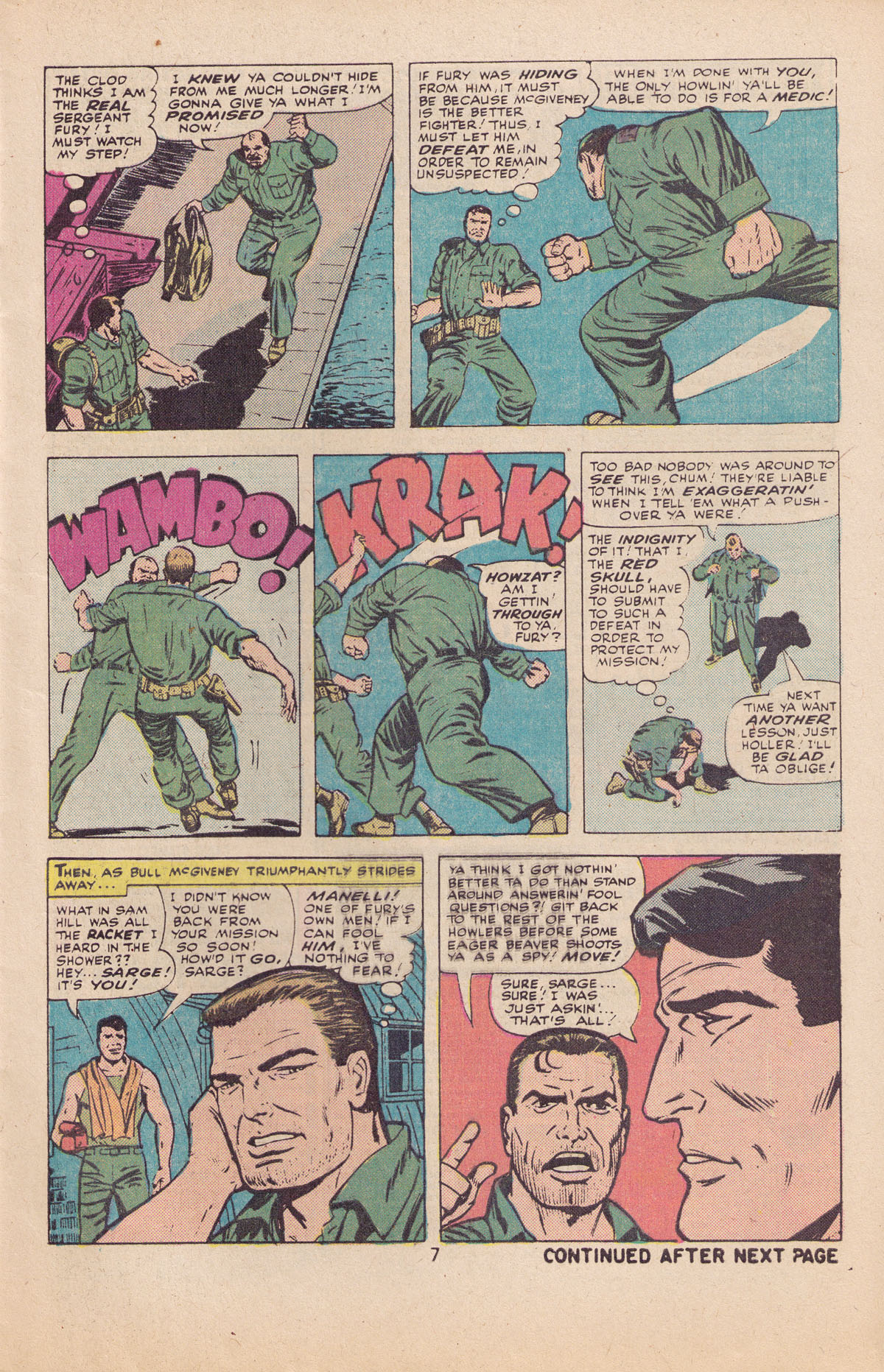 Read online Sgt. Fury comic -  Issue #127 - 9