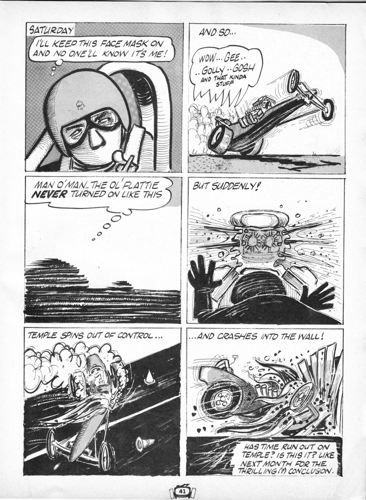 Drag Cartoons issue 7 - Page 41