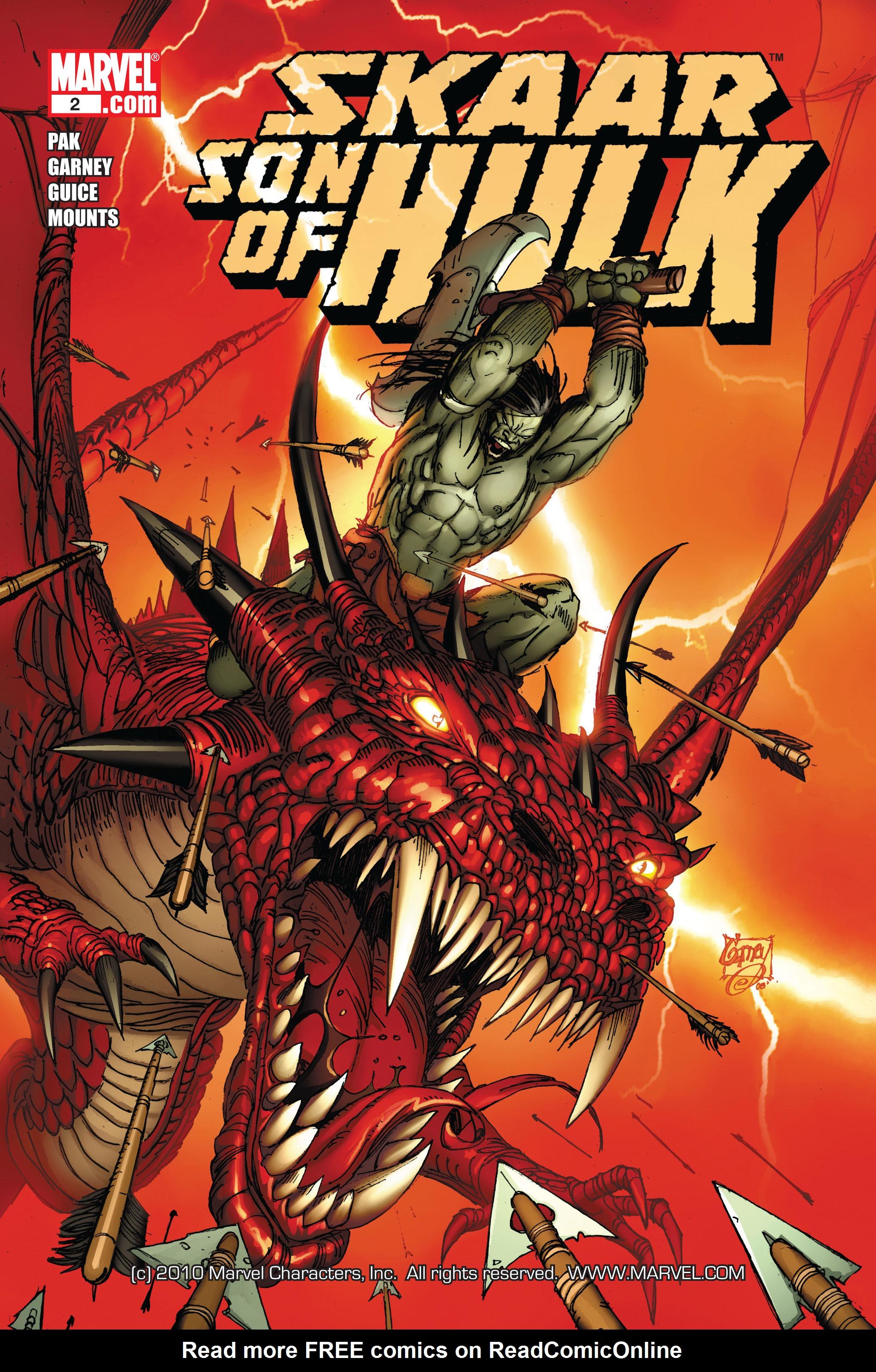 Read online Skaar: Son of Hulk comic -  Issue #2 - 1