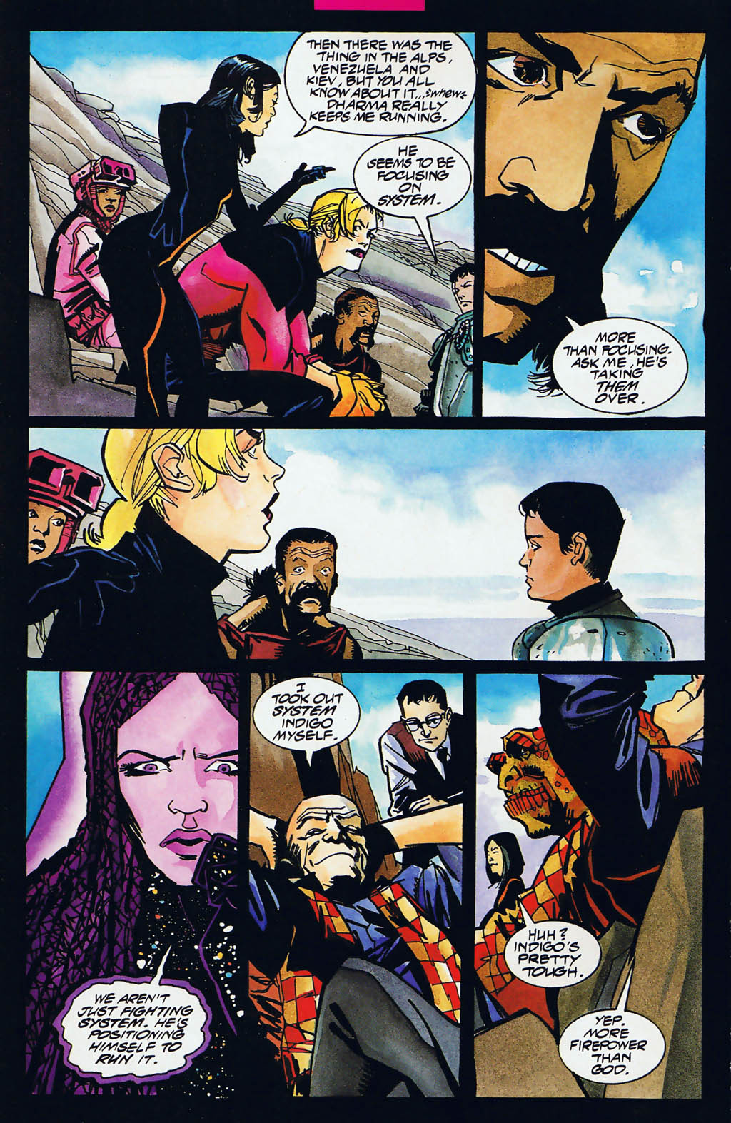 Read online Shadow Cabinet comic -  Issue #15 - 7