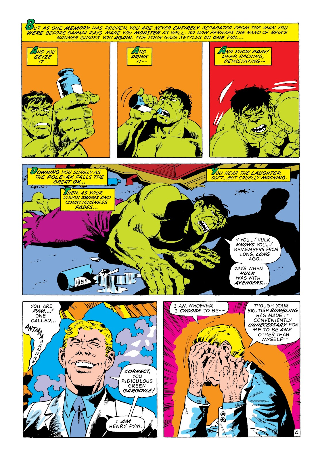 Read online Marvel Masterworks: The Incredible Hulk comic -  Issue # TPB 8 (Part 3) - 22