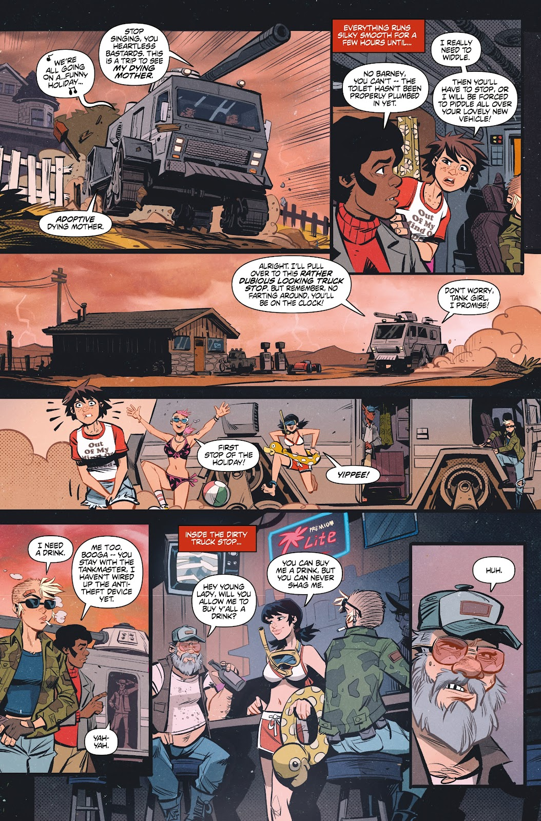 Read online Tank Girl Ongoing comic -  Issue #1 - 21