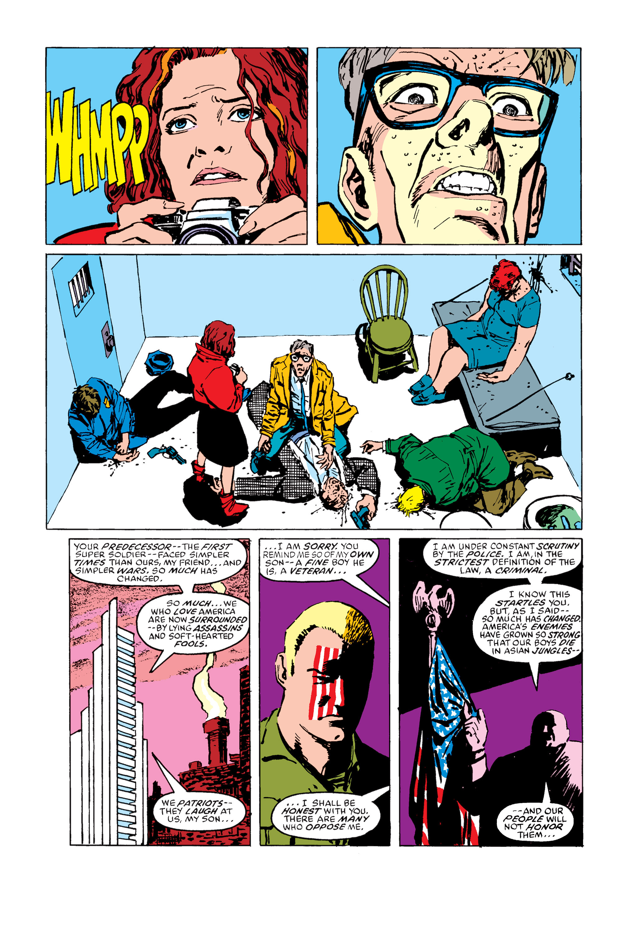 Read online Daredevil: Born Again comic -  Issue # Full - 161