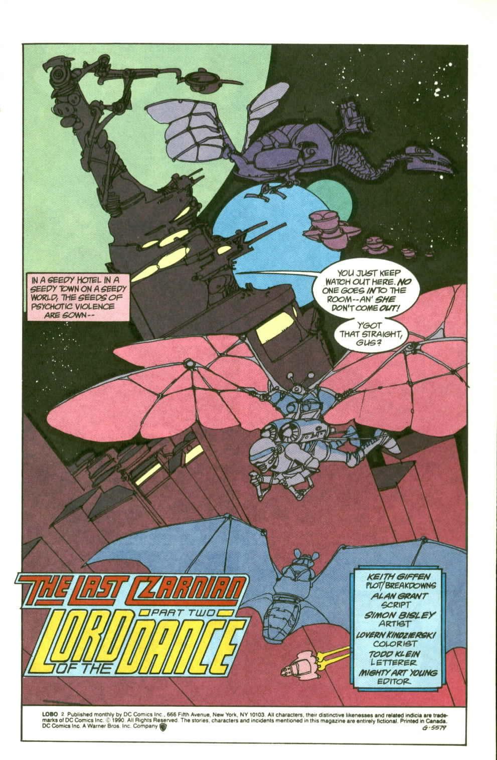 Read online Lobo (1990) comic -  Issue #2 - 2