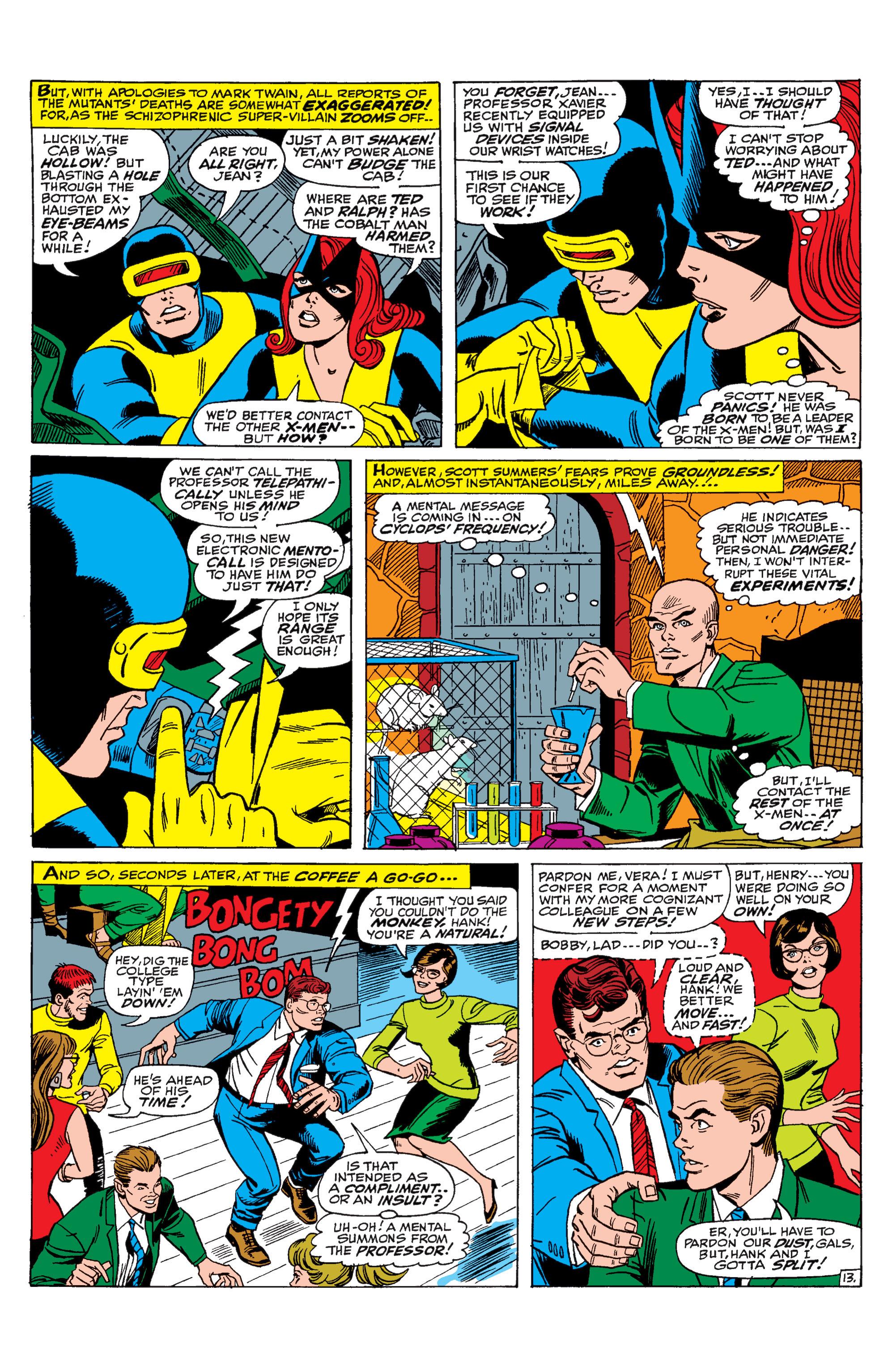 Read online Uncanny X-Men (1963) comic -  Issue #31 - 14
