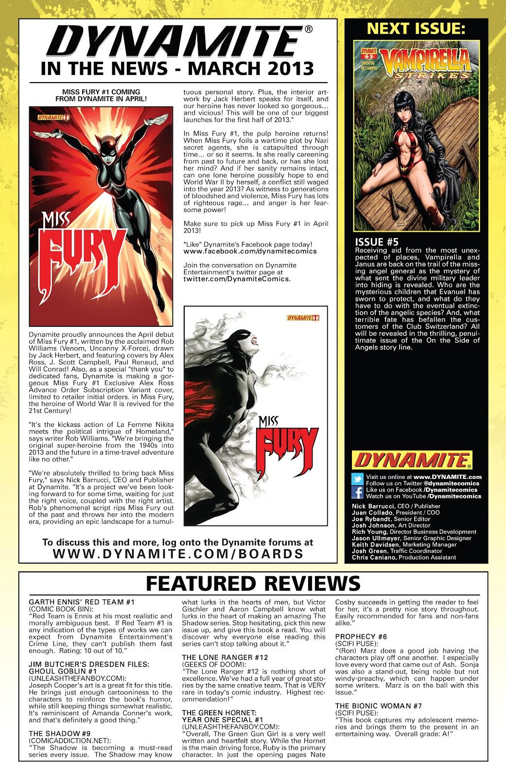 Read online Vampirella Strikes comic -  Issue #4 - 26