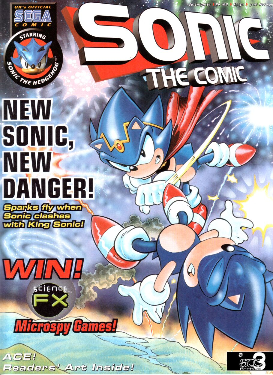 Read online Sonic the Comic comic -  Issue #168 - 1