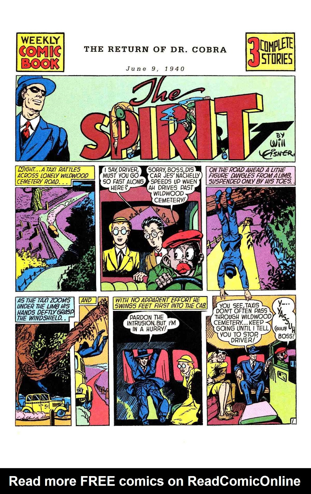 Read online Will Eisner's The Spirit Archives comic -  Issue # TPB 1 (Part 1) - 9