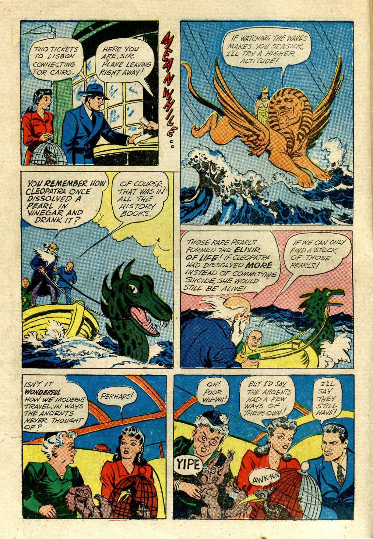 Read online Shadow Comics comic -  Issue #33 - 8