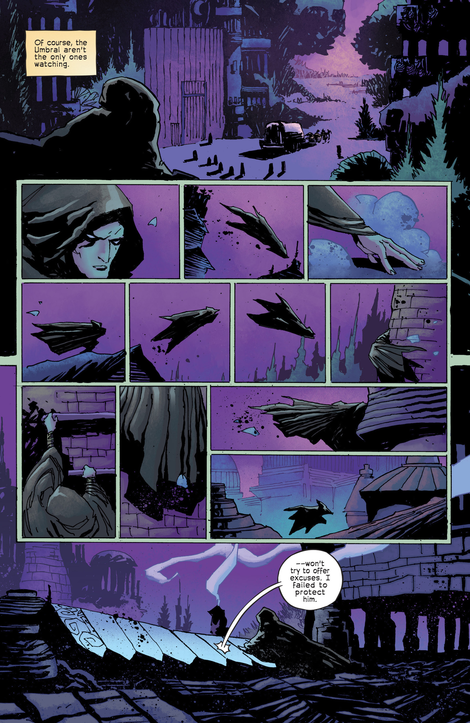 Read online Umbral comic -  Issue #6 - 23