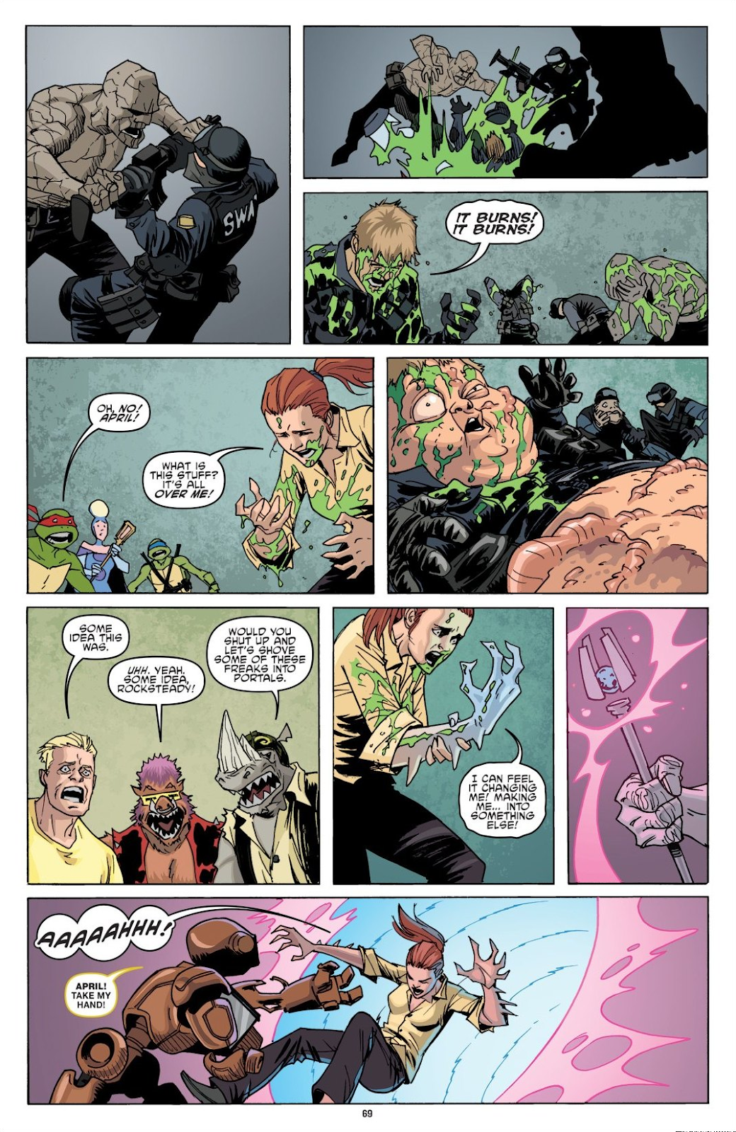 Read online Teenage Mutant Ninja Turtles: The IDW Collection comic -  Issue # TPB 8 (Part 1) - 68