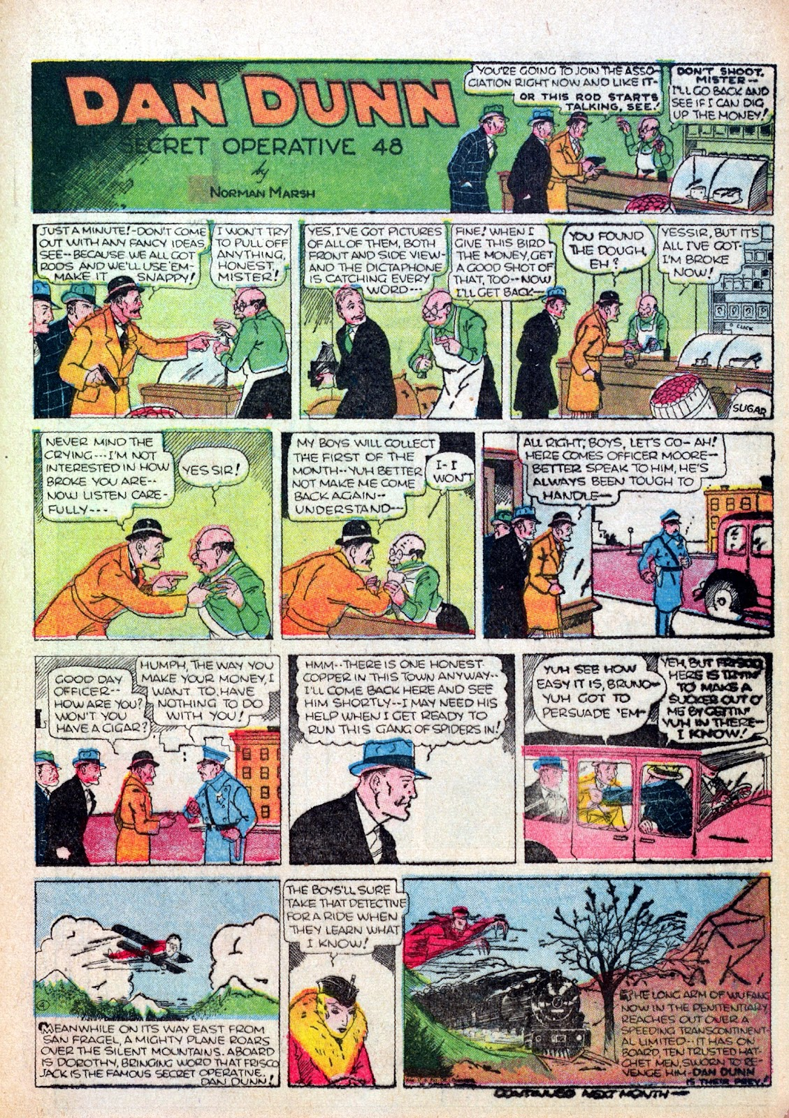 Read online Famous Funnies comic -  Issue #17 - 46