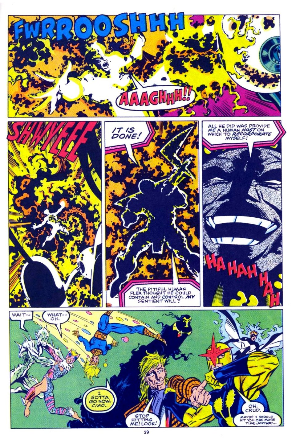 The New Warriors Issue #15 #19 - English 22