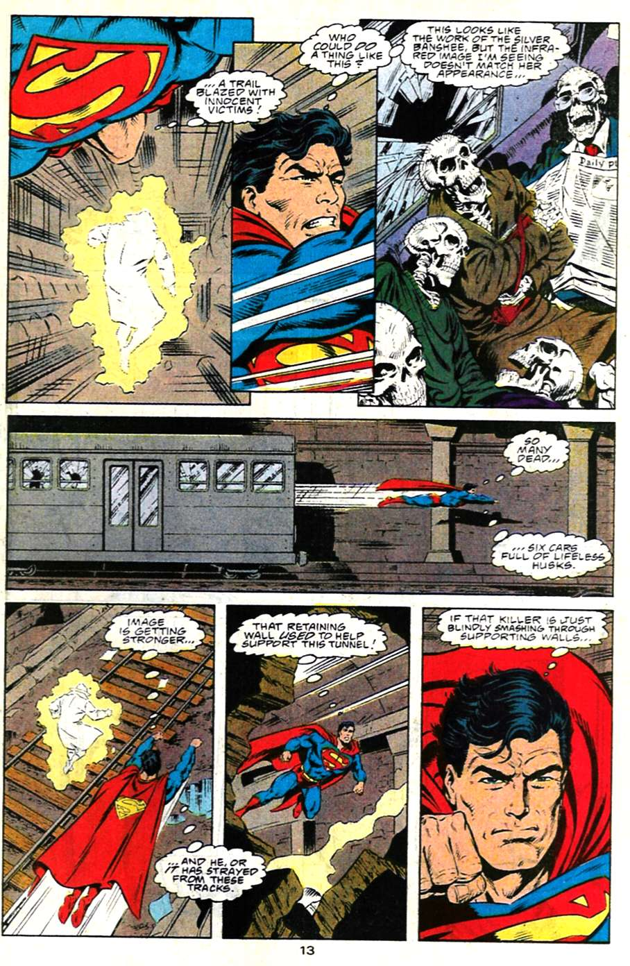 Read online Adventures of Superman (1987) comic -  Issue #481 - 14
