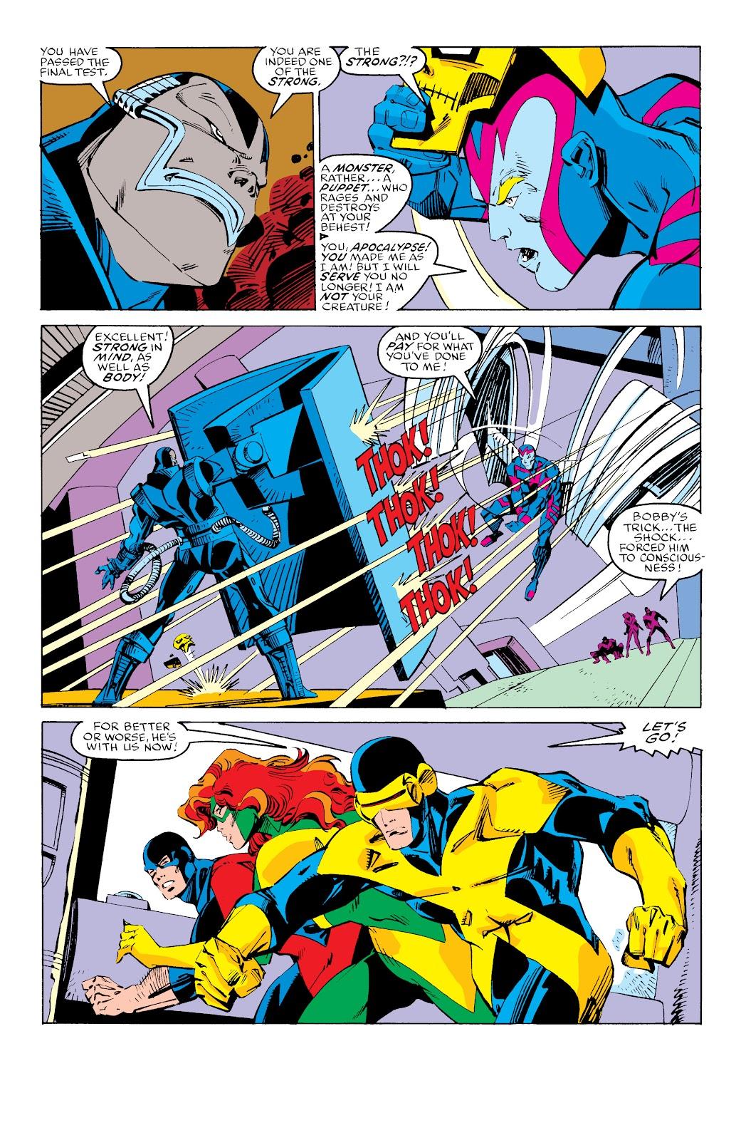 Read online X-Men Milestones: Fall of the Mutants comic -  Issue # TPB (Part 3) - 35