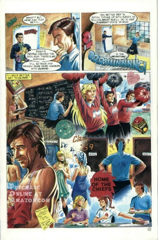 Read online Quantum Leap comic -  Issue #6 - 14