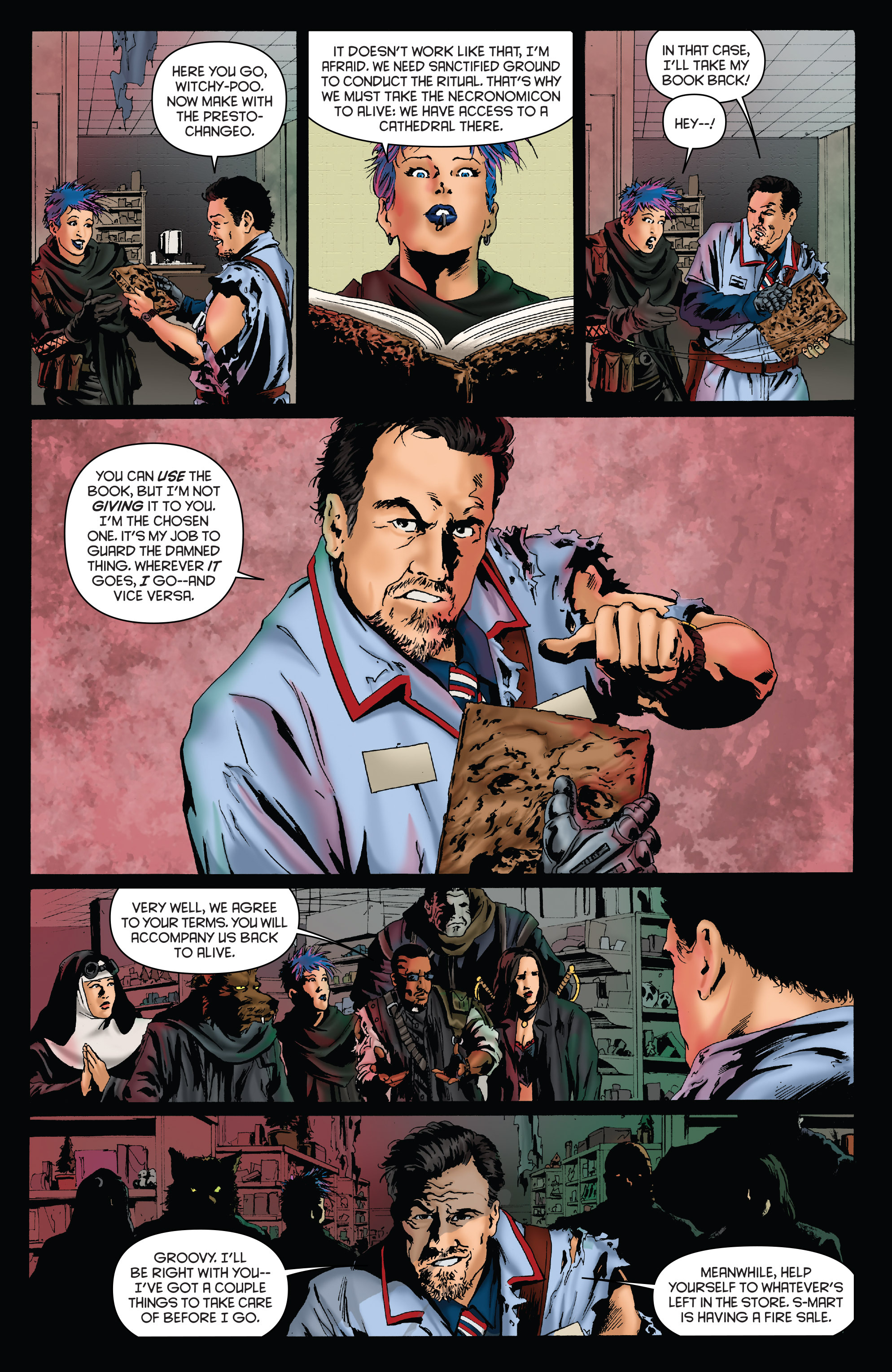 Read online Army of Darkness: Furious Road comic -  Issue #2 - 8