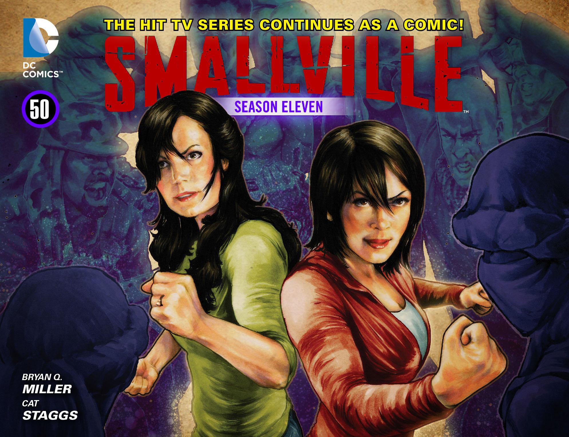 Read online Smallville: Season 11 comic -  Issue #50 - 1