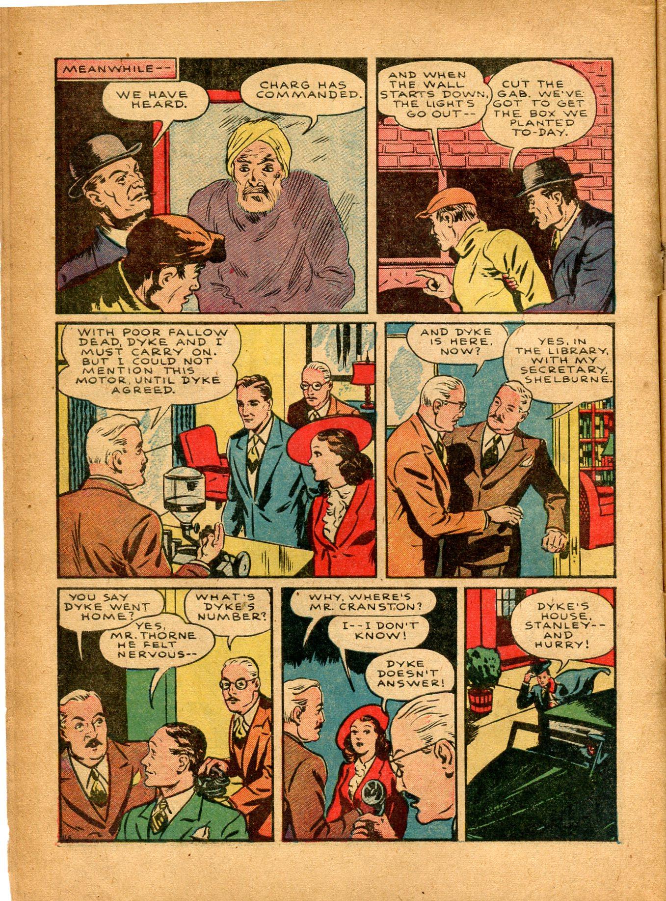Read online Shadow Comics comic -  Issue #8 - 8