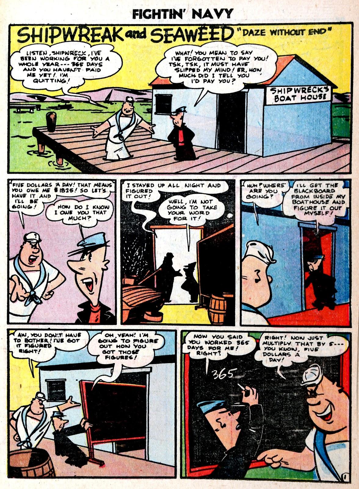 Read online Fightin' Navy comic -  Issue #75 - 19
