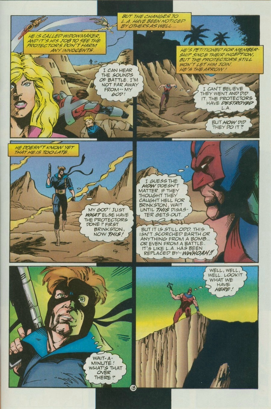 Read online Ex-Mutants comic -  Issue #12 - 22