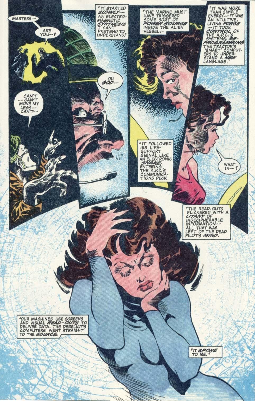 Read online Aliens: Earth War comic -  Issue #1 - 19