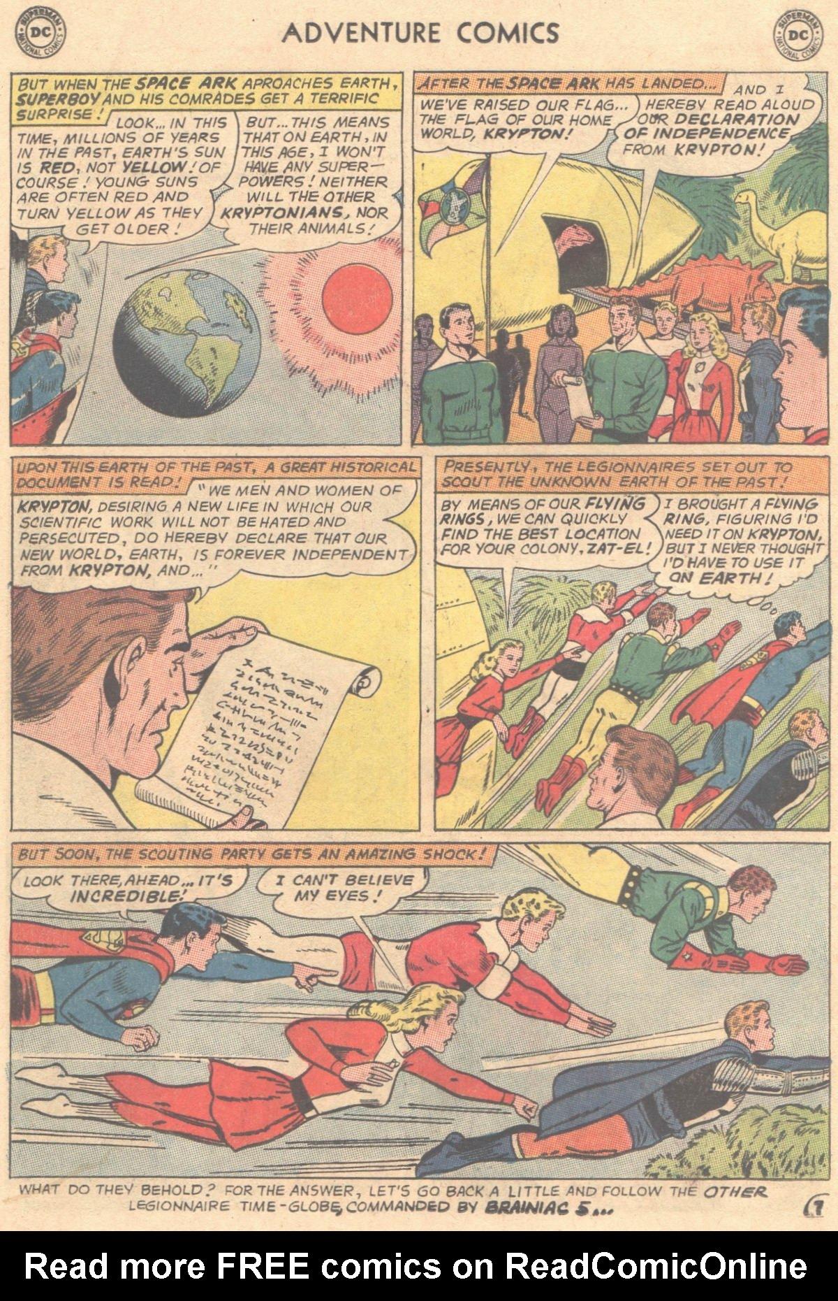 Read online Adventure Comics (1938) comic -  Issue #333 - 8