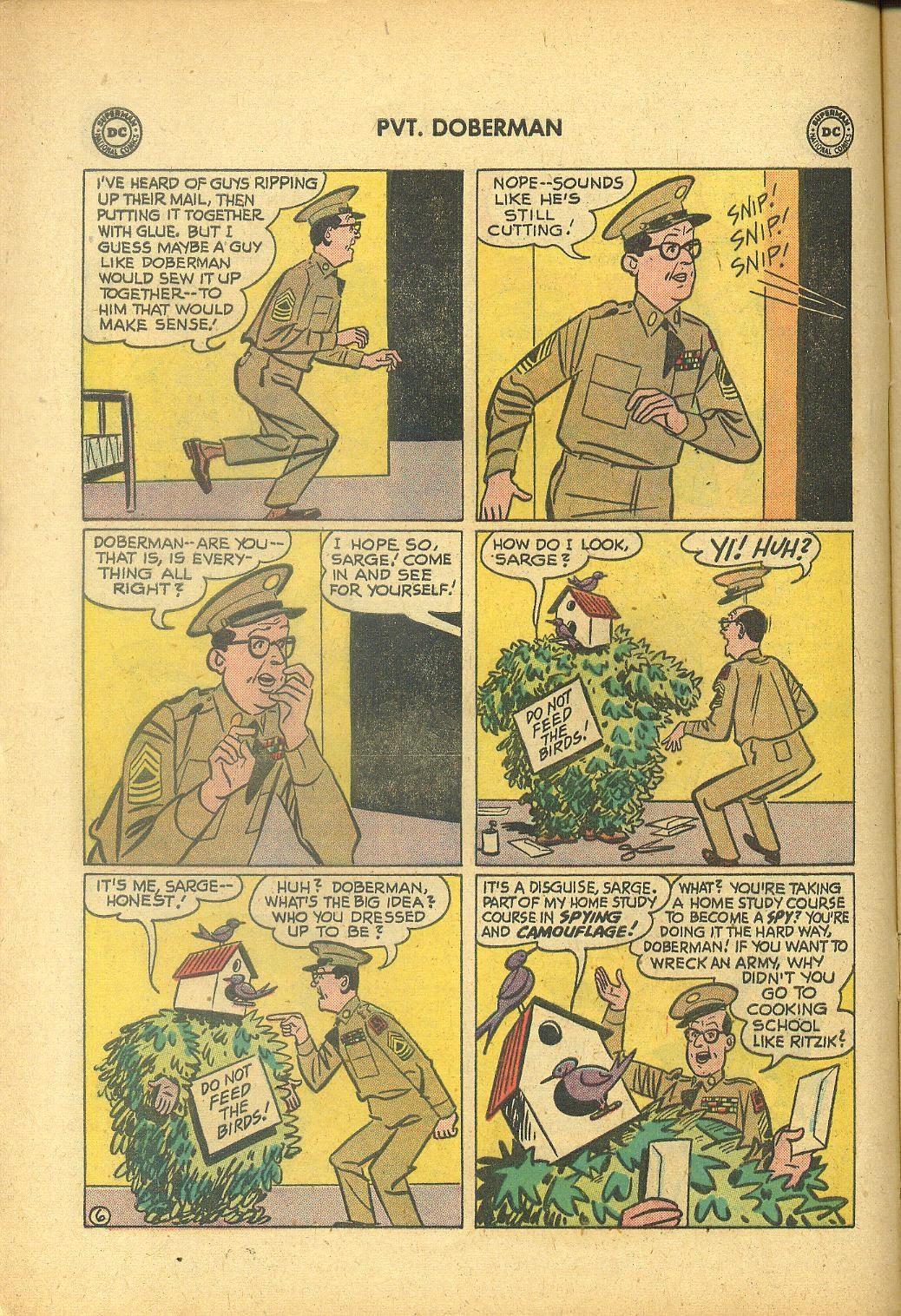 Sgt. Bilko's Pvt. Doberman issue 1 - Page 8