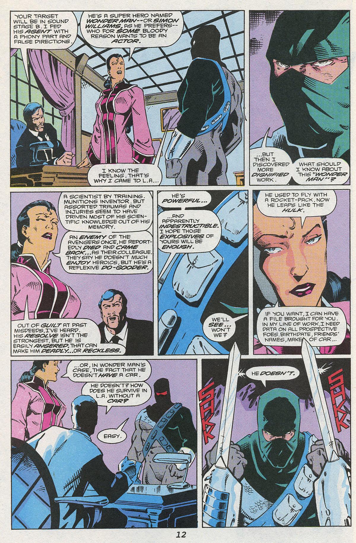 Read online Wonder Man (1991) comic -  Issue #4 - 9