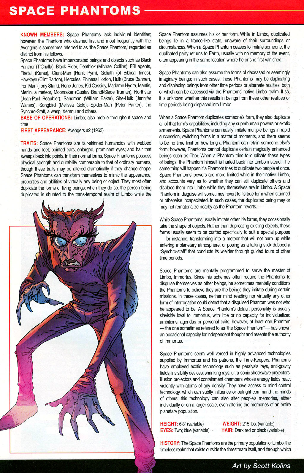 Read online All-New Official Handbook of the Marvel Universe A to Z: Update comic -  Issue #3 - 56