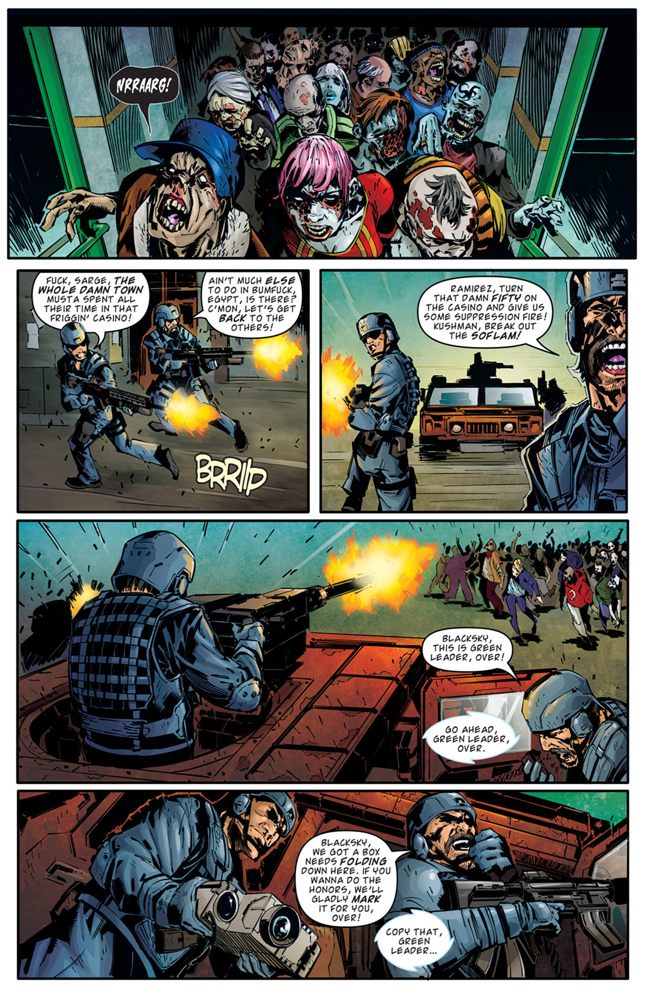 Read online Dead Rising: Road to Fortune comic -  Issue # TPB - 34