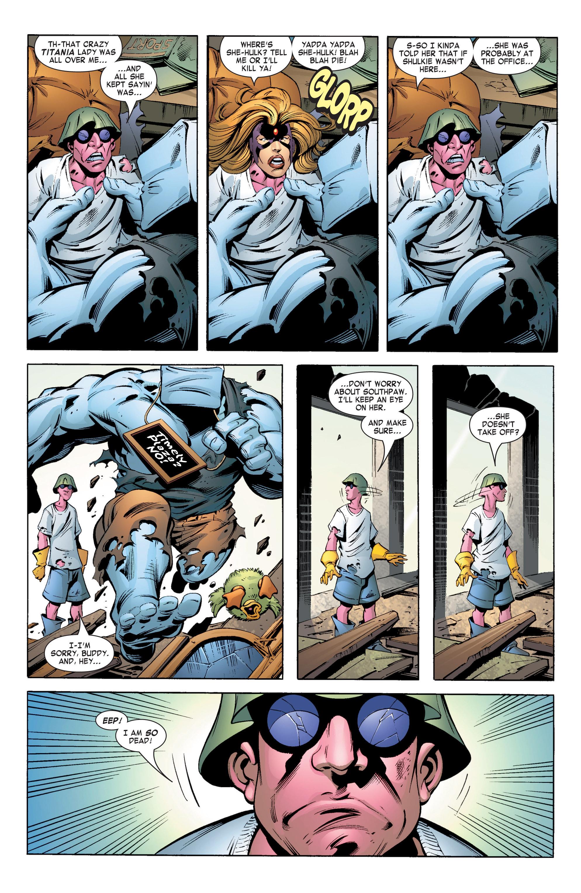 Read online She-Hulk (2004) comic -  Issue #12 - 3