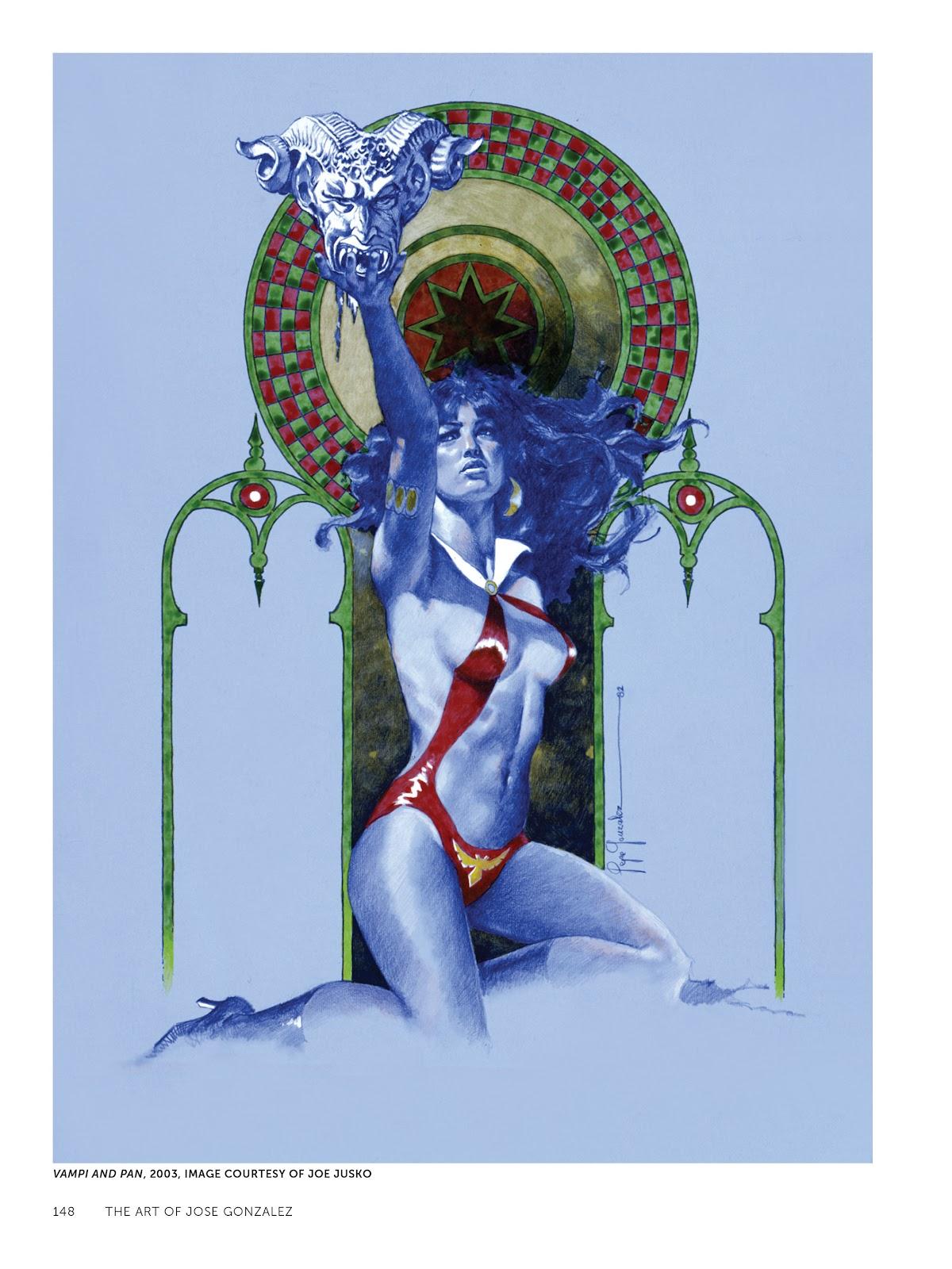 Read online The Art of Jose Gonzalez comic -  Issue # TPB (Part 2) - 50