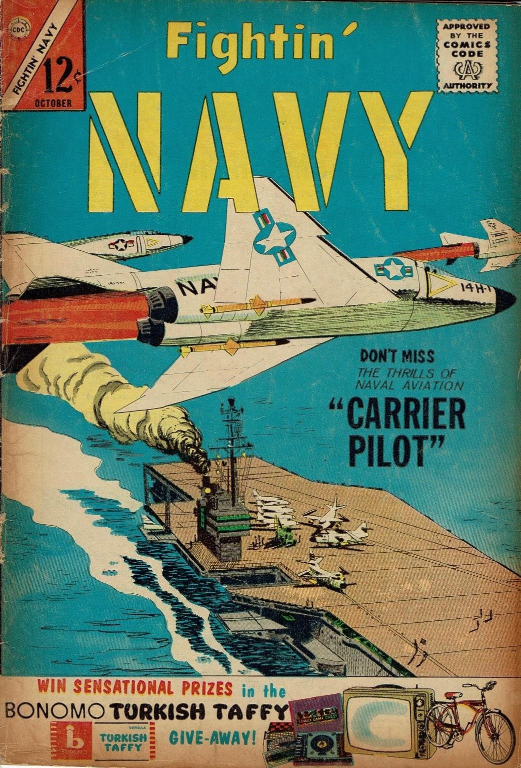 Read online Fightin' Navy comic -  Issue #112 - 1
