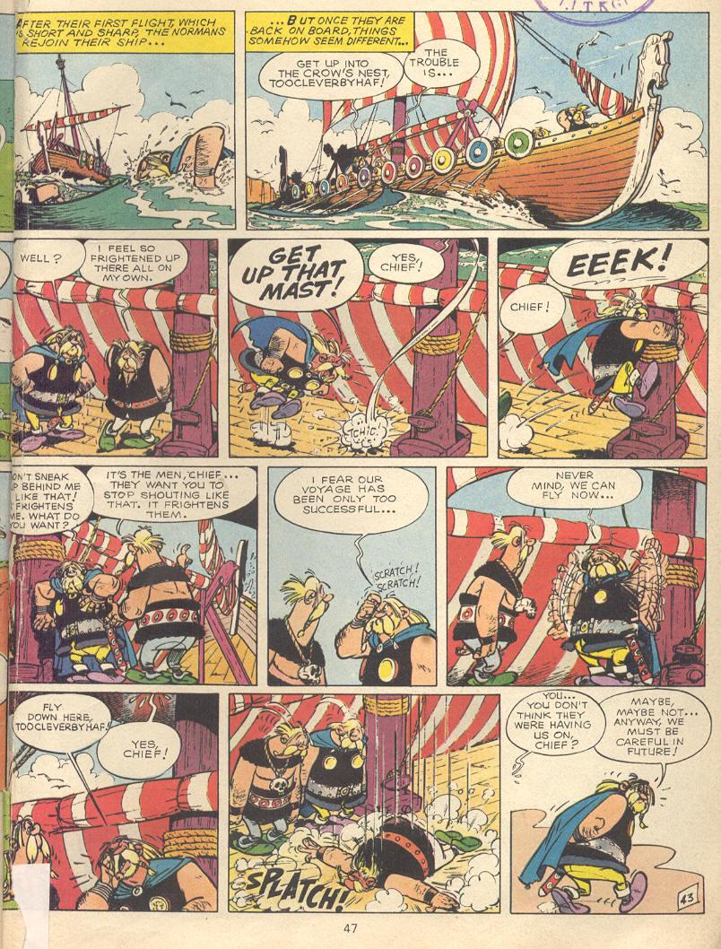 Read online Asterix comic -  Issue #9 - 44