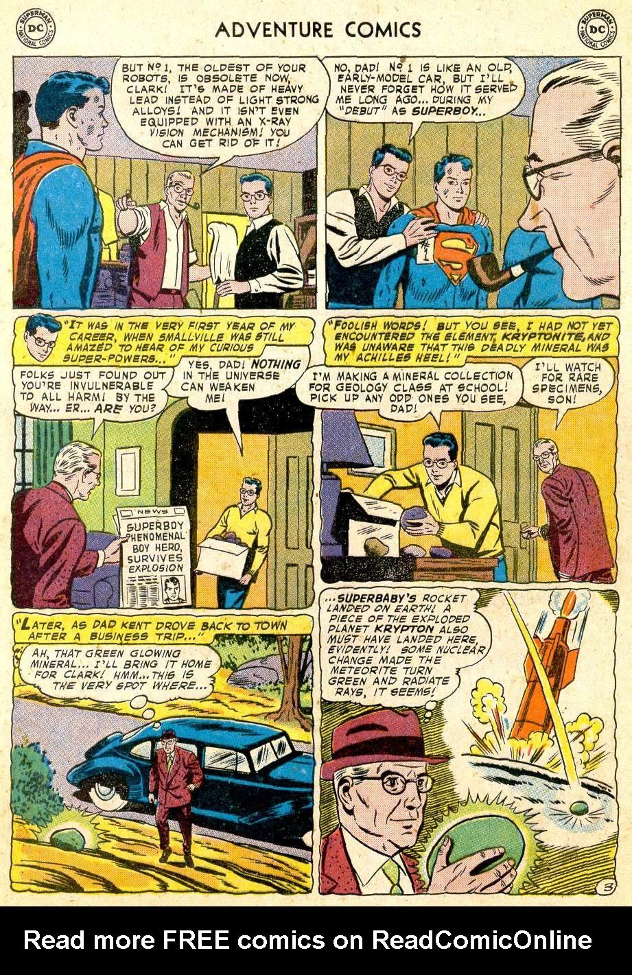 Read online Adventure Comics (1938) comic -  Issue #251 - 5