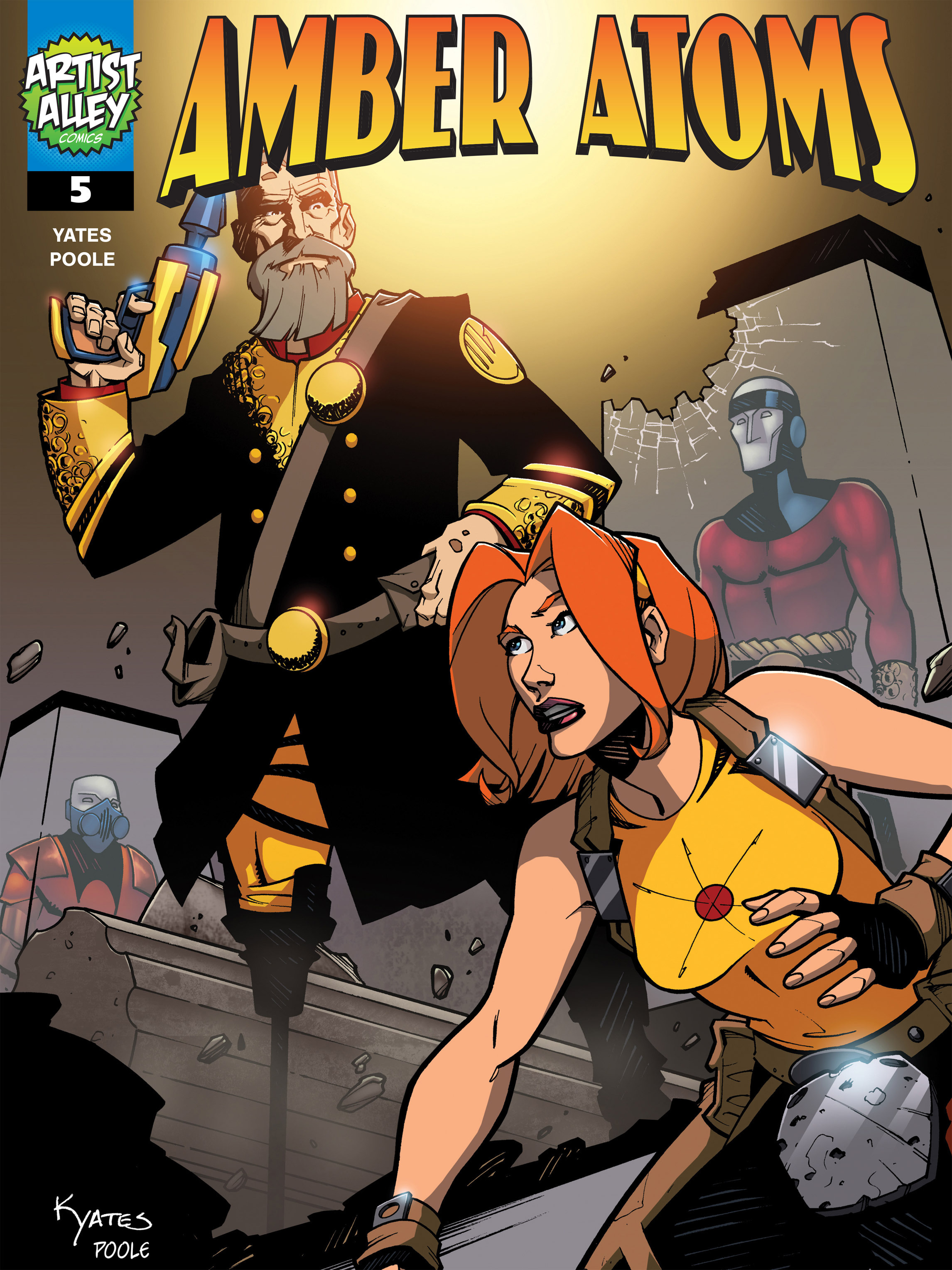 Read online Amber Atoms comic -  Issue #5 - 1