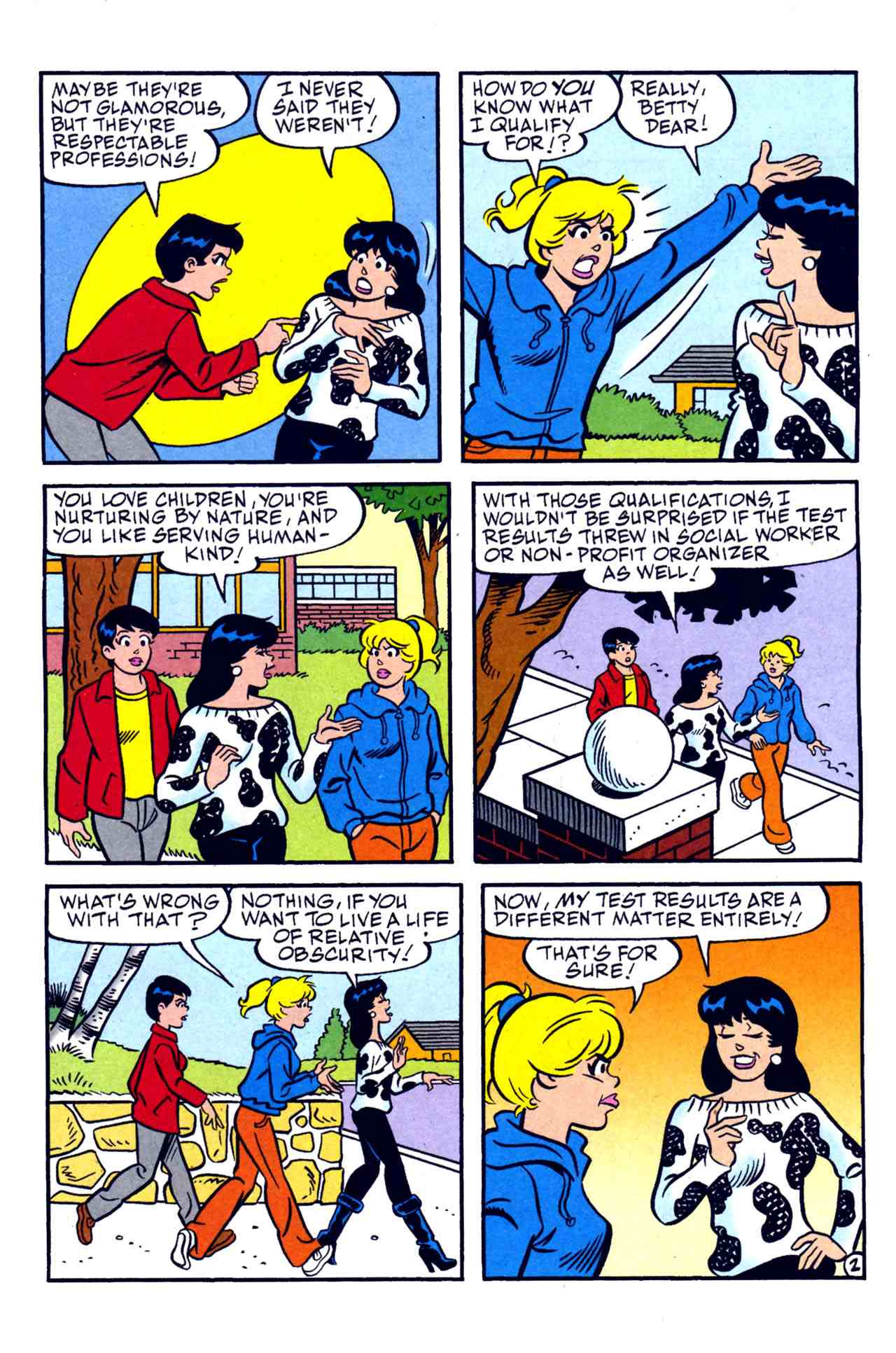 Read online Archie's Girls Betty and Veronica comic -  Issue #230 - 9