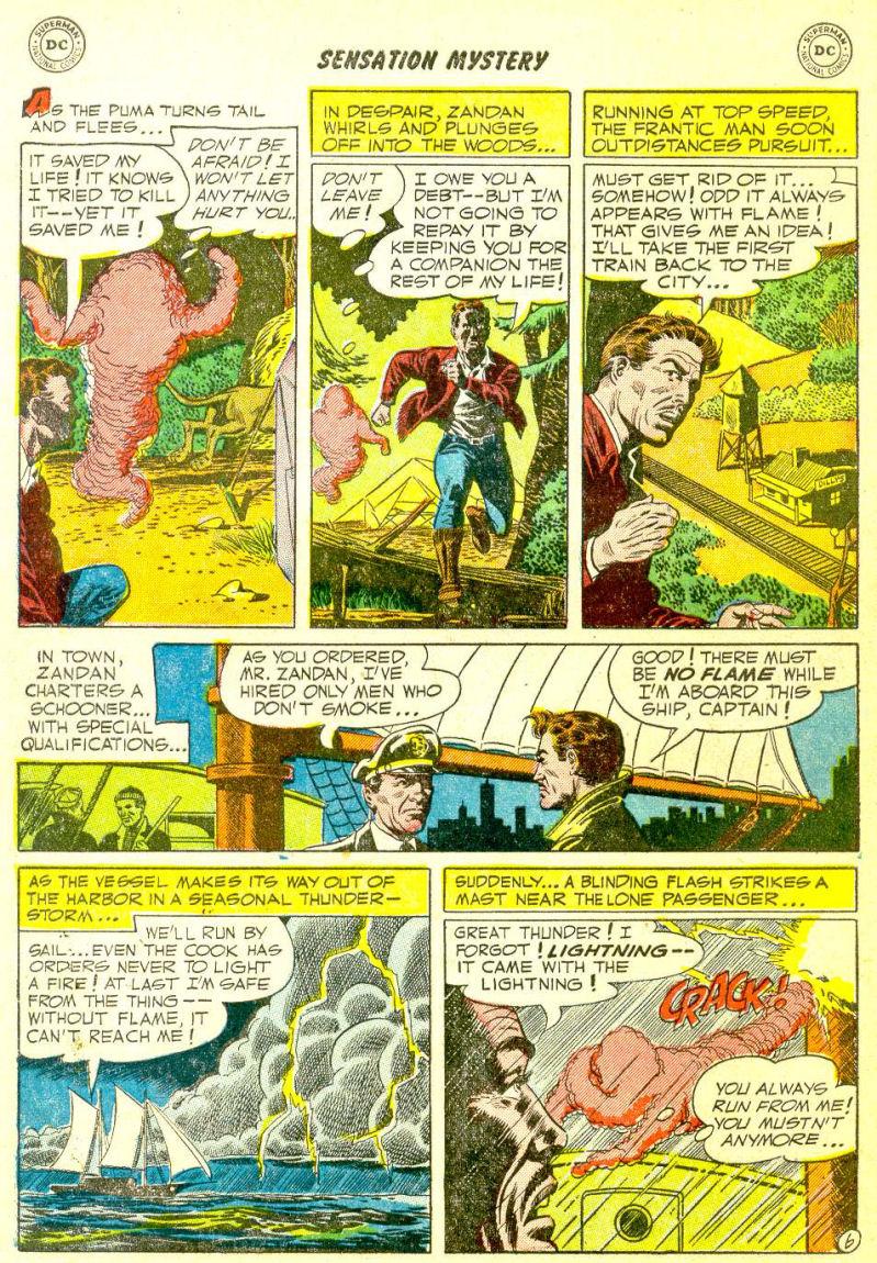 Read online Sensation (Mystery) Comics comic -  Issue #111 - 8