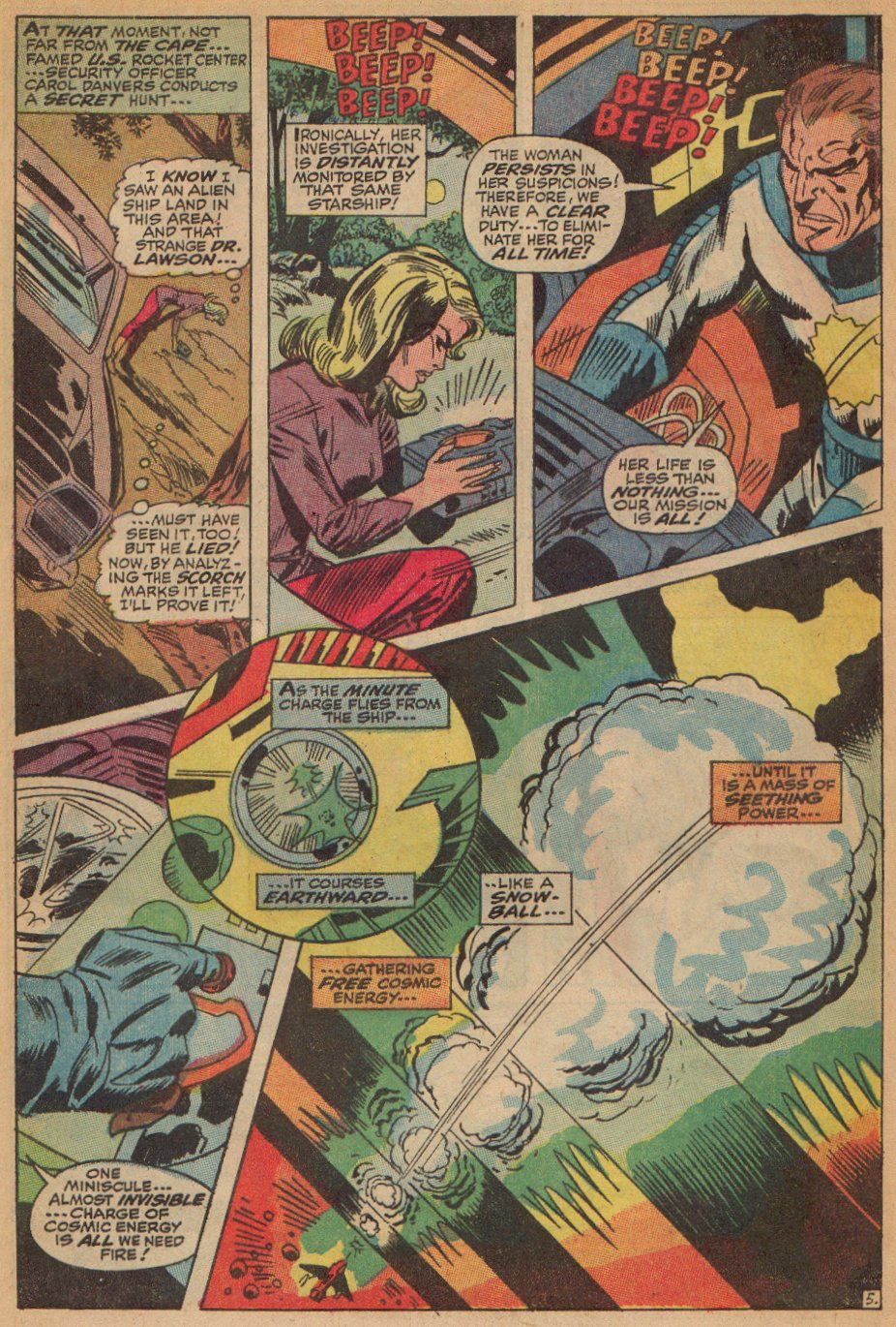 Captain Marvel (1968) Issue #7 #7 - English 6