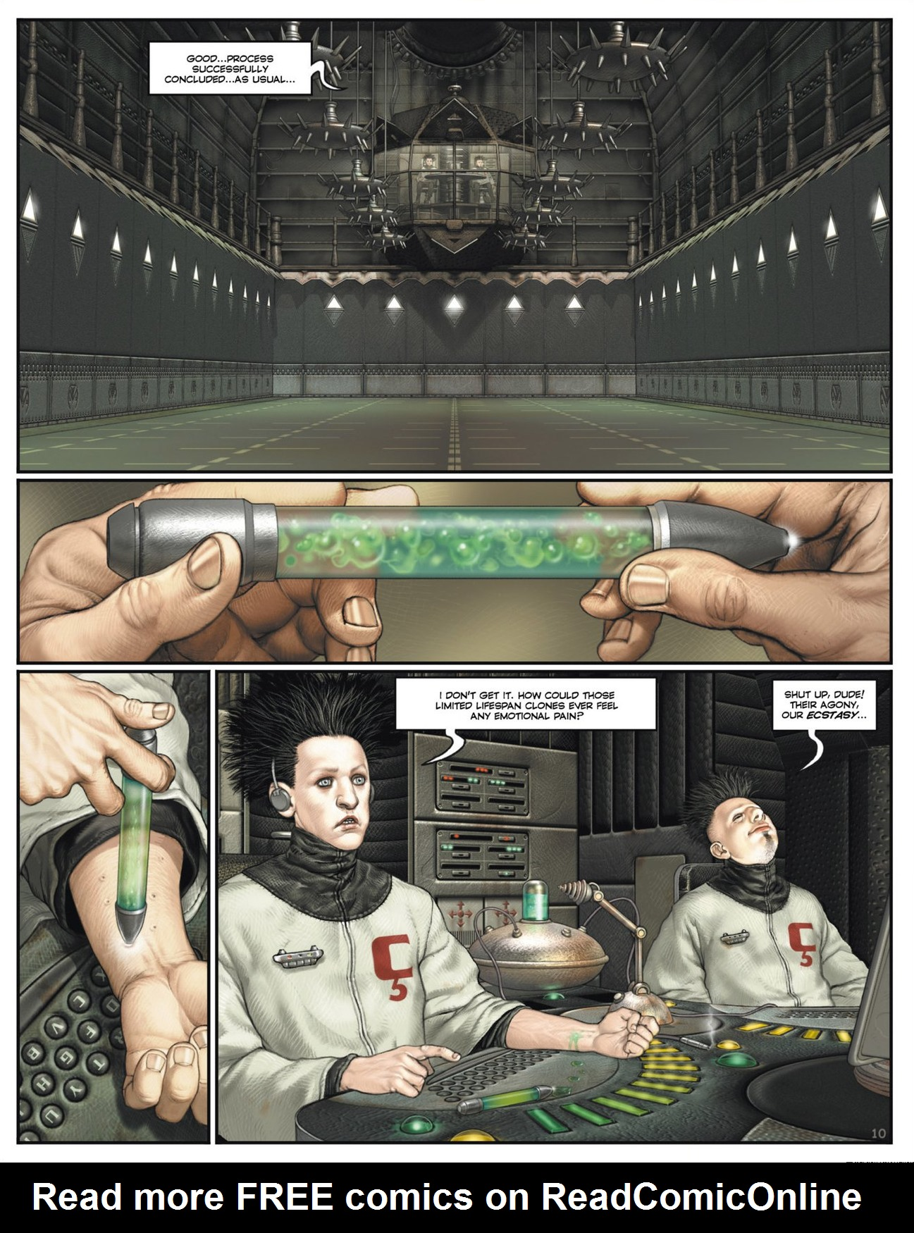 Read online Megalex (2014) comic -  Issue #1 - 15