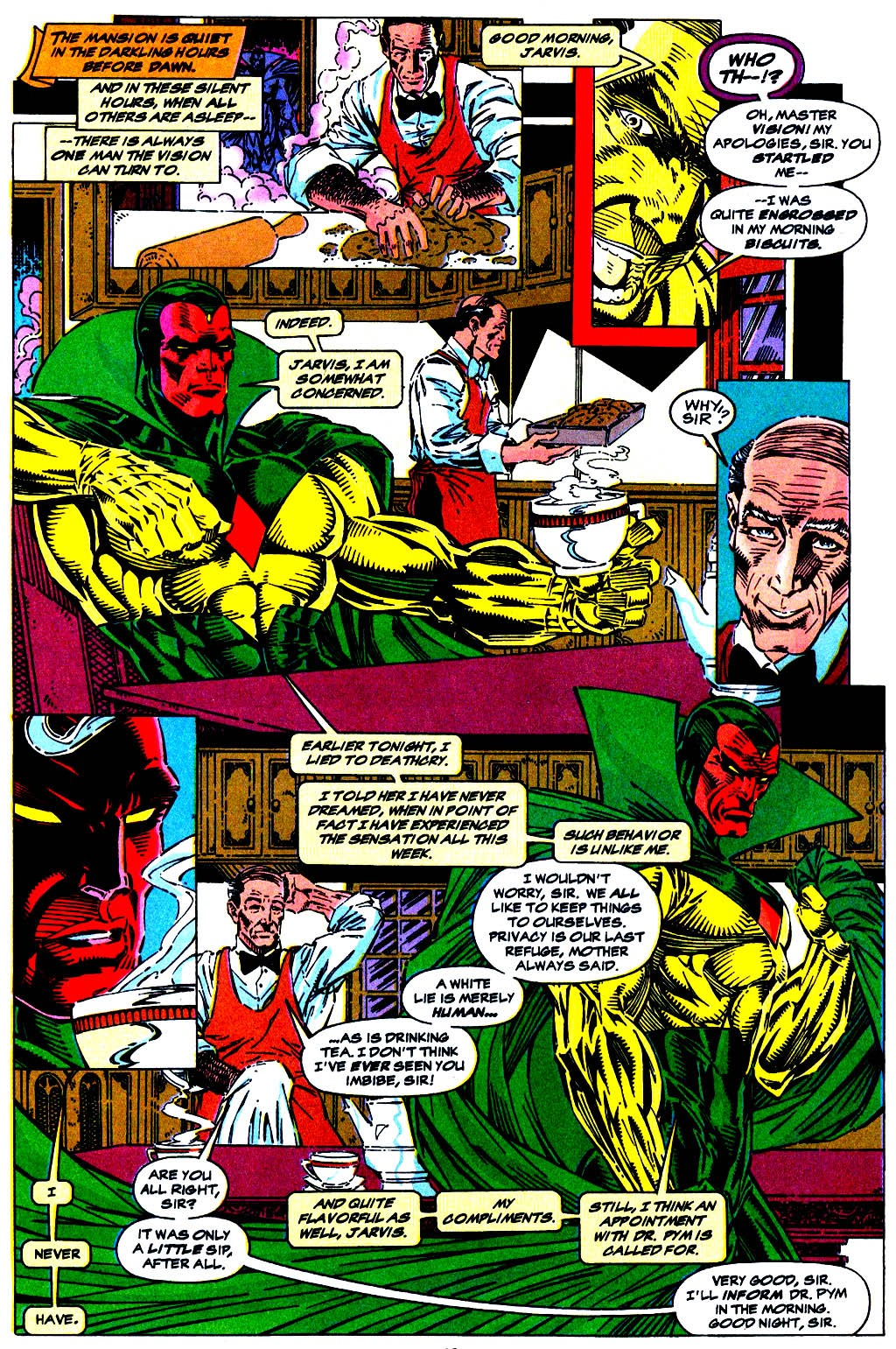 Read online The Vision comic -  Issue #1 - 8