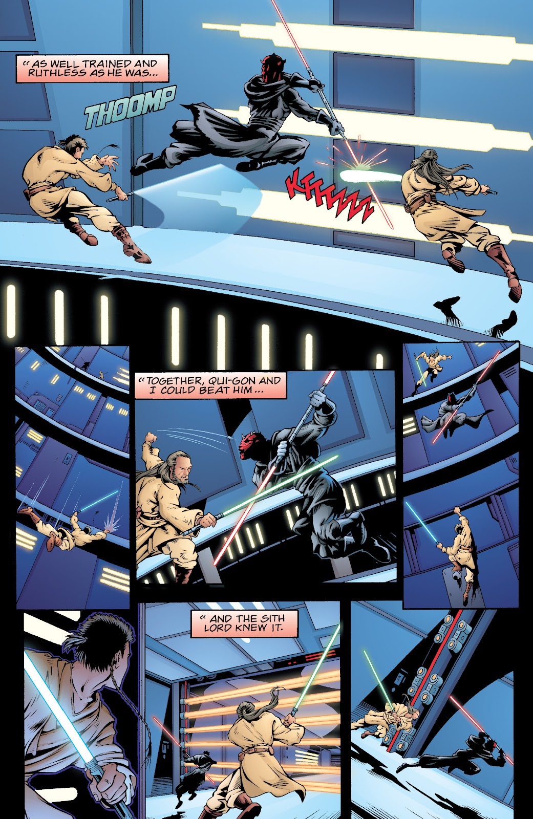 Read online Star Wars Legends: Rise of the Sith - Epic Collection comic -  Issue # TPB 2 (Part 5) - 42