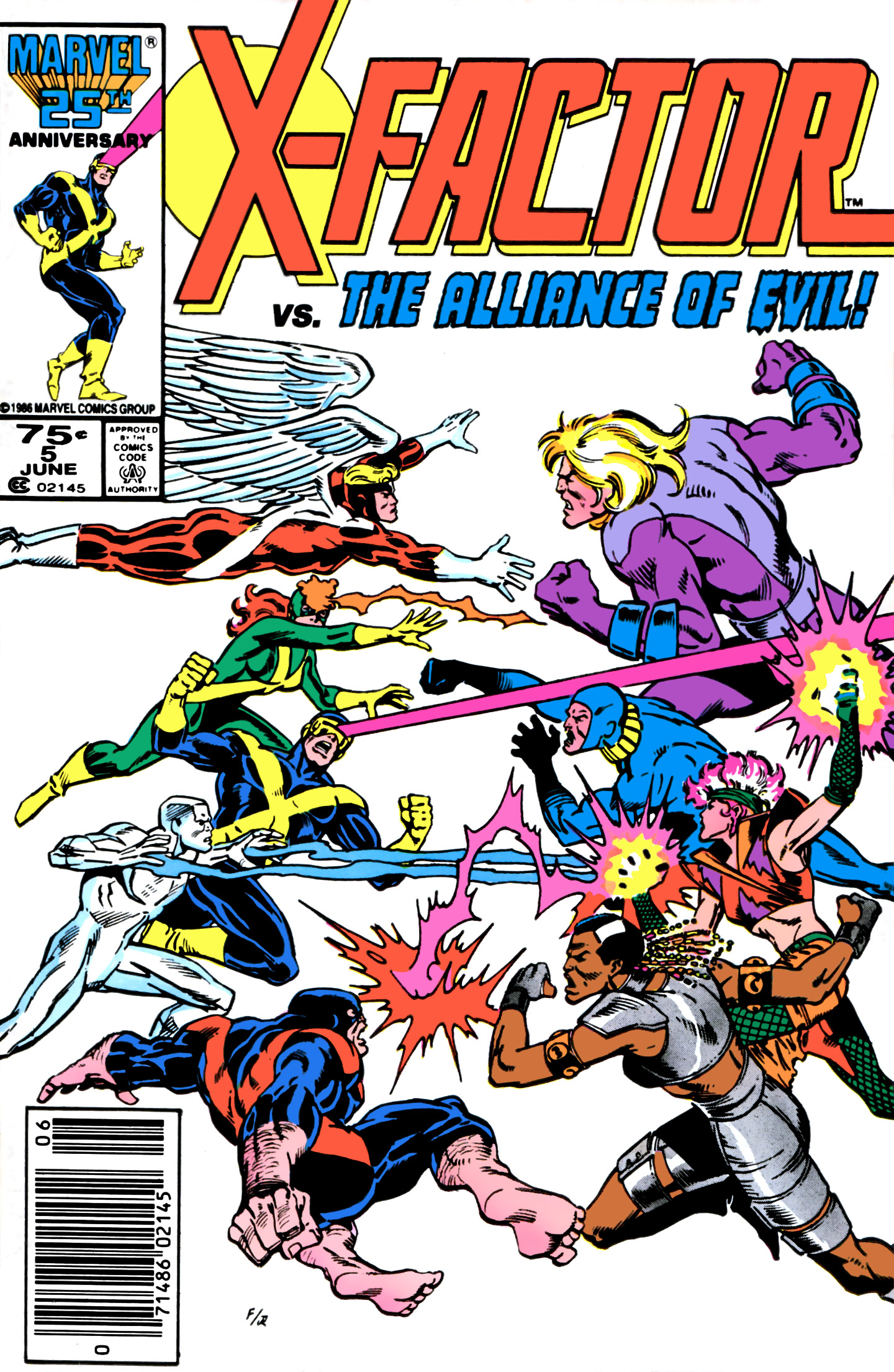 Read online X-Factor (1986) comic -  Issue #5 - 1
