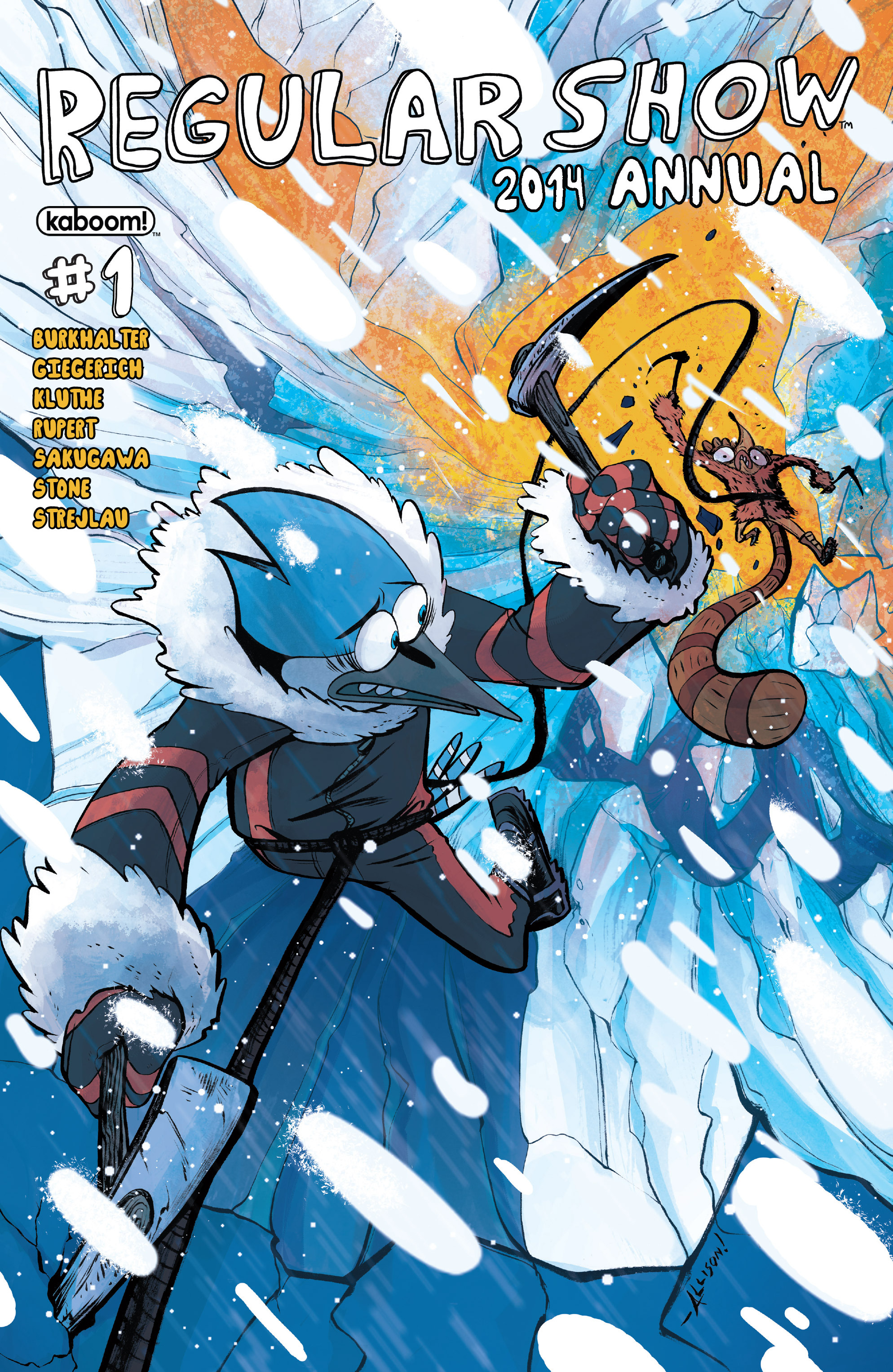Read online Regular Show comic -  Issue # _Annual 1 - 1
