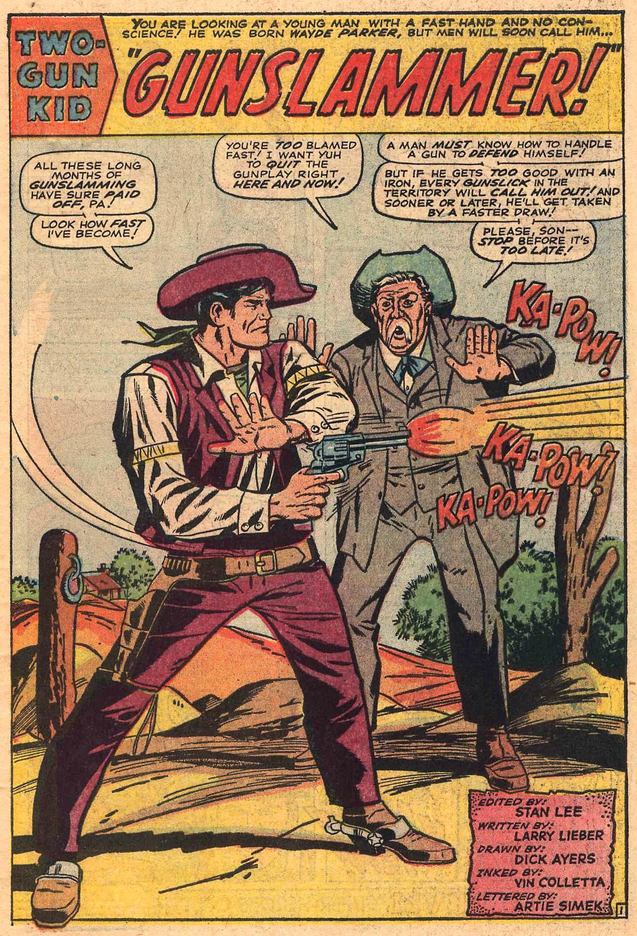 Read online Two-Gun Kid comic -  Issue #84 - 3