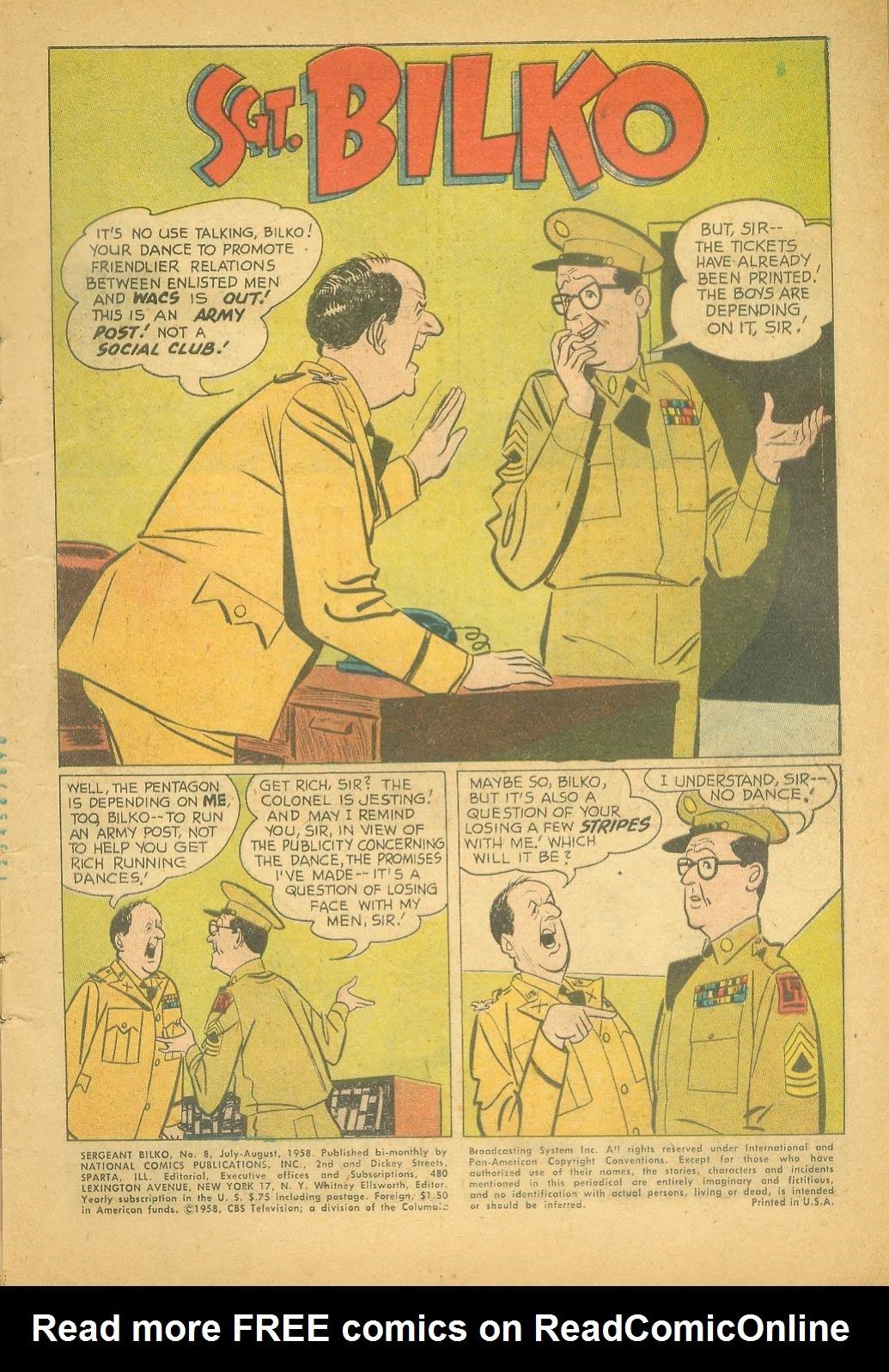 Sergeant Bilko issue 8 - Page 3