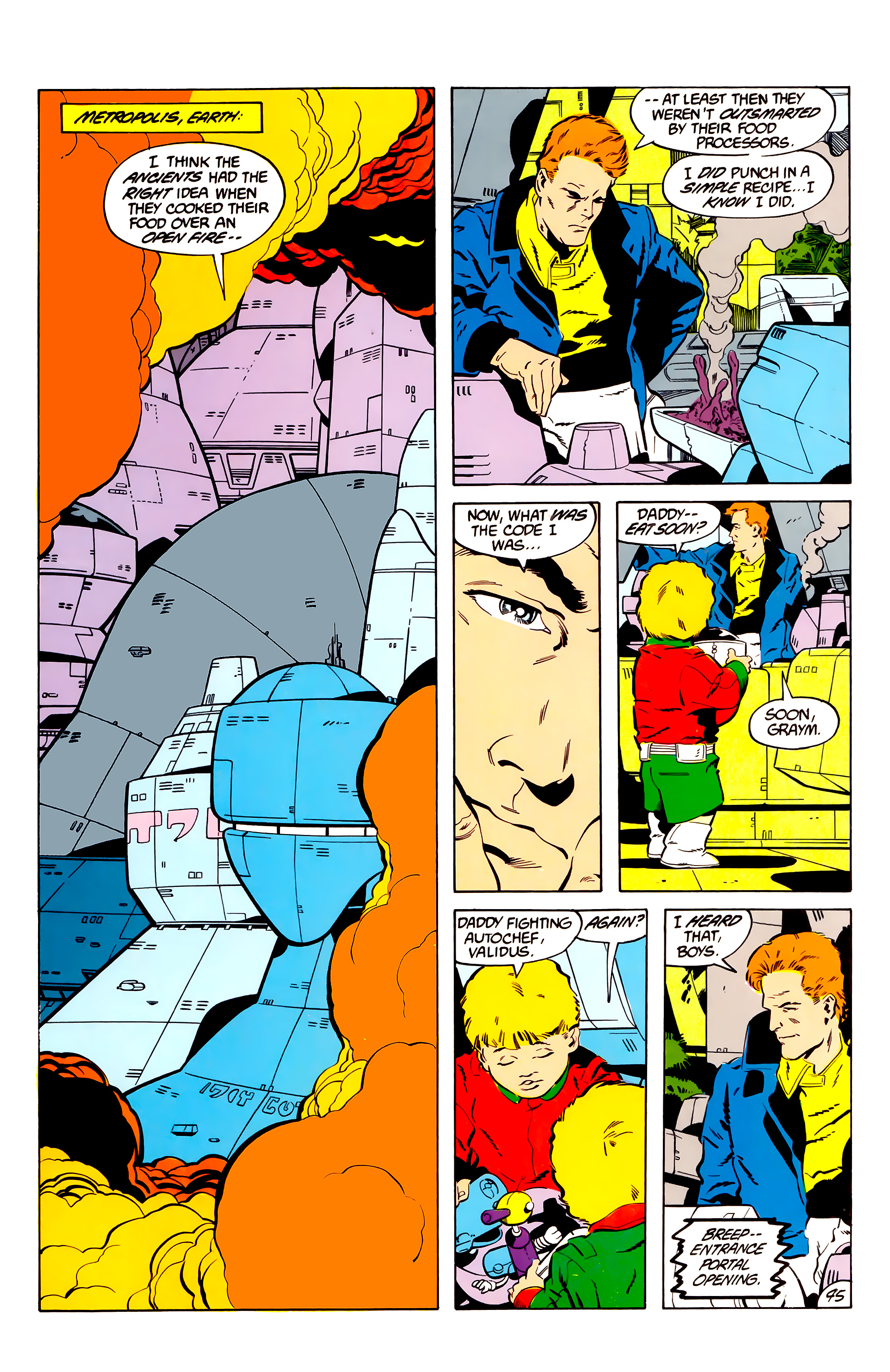 Legion of Super-Heroes (1984) 45 Page 44